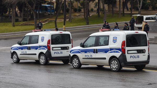 Автомобили патрульно-постовой службы, архивное фото - Sputnik Азербайджан