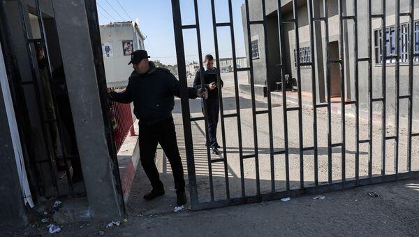Контрольно-пропускной пункт в Газе, фото из архива - Sputnik Азербайджан