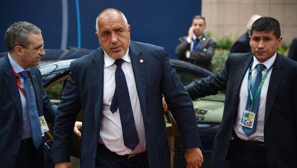 Премьер-министр Болгарии Бойко Борисов - Sputnik Азербайджан