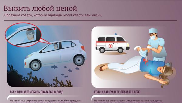 Школа выживания в экстренных ситуациях - Sputnik Азербайджан