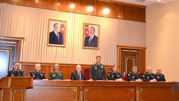 В Министерстве внутренних дел состоялось заседание Коллегии - Sputnik Азербайджан