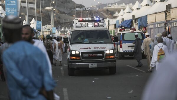 Карета скорой помощи в Саудовской Аравии, фото из архива - Sputnik Азербайджан
