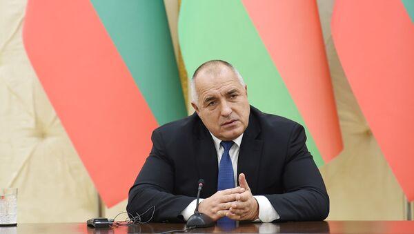 Bolqarıstan Respublikasının Baş naziri Boyko Borisov - Sputnik Azərbaycan
