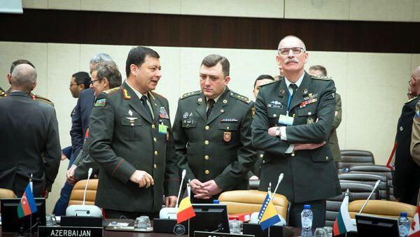 Начальник Генштаба ВС Азербайджана, генерал-полковник Наджмеддин Садыков принял участие в заседании НАТО - Sputnik Азербайджан