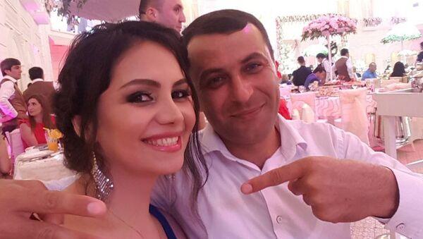 Певица Севда Саналиева с мужем - Sputnik Азербайджан