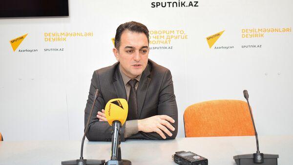 Ramil Osmanlı, Əmlak Ekspert Mərkəzinin direktoru - Sputnik Azərbaycan