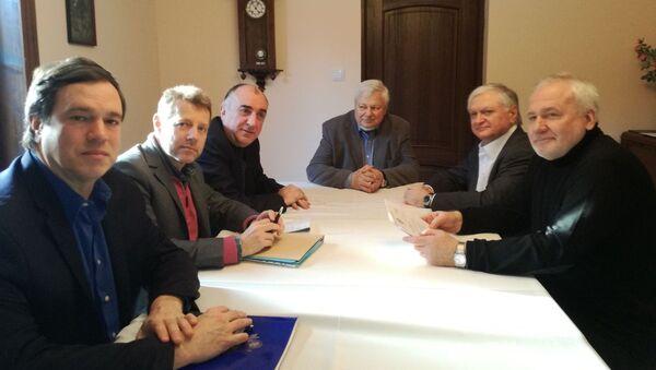 Встреча глав МИД Азербайджана и Армении с сопредседателями Минской группы ОБСЕ - Sputnik Азербайджан