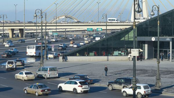 Станция метро Кероглу в Баку, фото из архива - Sputnik Азербайджан