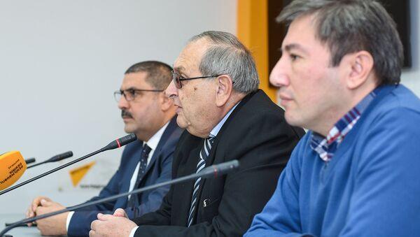 Пресс-конференция о том, что предшествовало трагическим событиям 20 января 1990 года и что происходило в этот день - Sputnik Азербайджан