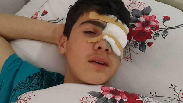 Халил Аллахгулиев, раненый в результате вооруженного инцидента - Sputnik Азербайджан