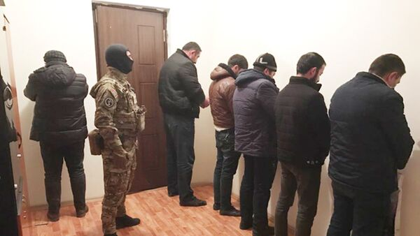Задержанные лица - Sputnik Азербайджан