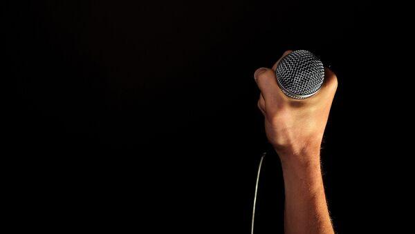 Mikrofon, arxiv şəkli - Sputnik Azərbaycan