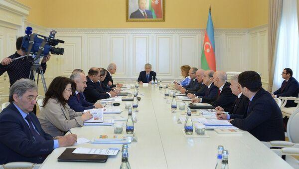 Пятое заседание Национального координационного совета Азербайджана по устойчивому развитию, Баку, 23 января 2018 года - Sputnik Азербайджан
