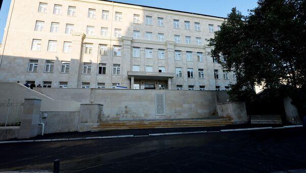 Здание средней школы номер 189-190 в Сабаильском районе Баку - Sputnik Азербайджан