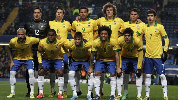 Сборная Бразилии по футболу - Sputnik Азербайджан