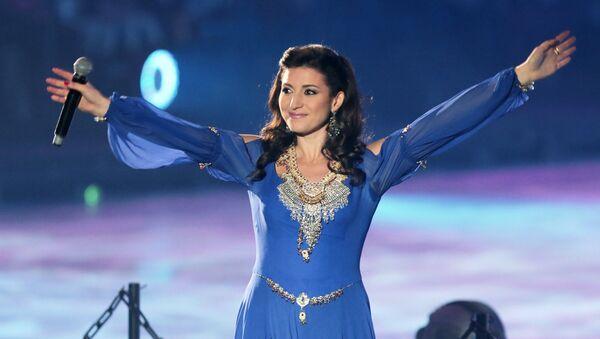 Российская певица Жасмин, фото из архива - Sputnik Азербайджан