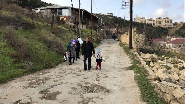 Оползневая зона на Баилово, фото из архива - Sputnik Азербайджан
