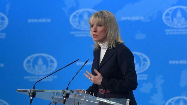 Брифинг официального представителя министерства иностранных дел РФ М. Захаровой - Sputnik Азербайджан