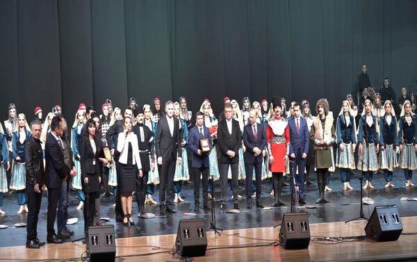 Концерт в честь столетия создания Азербайджанской Демократической Республики - Sputnik Азербайджан