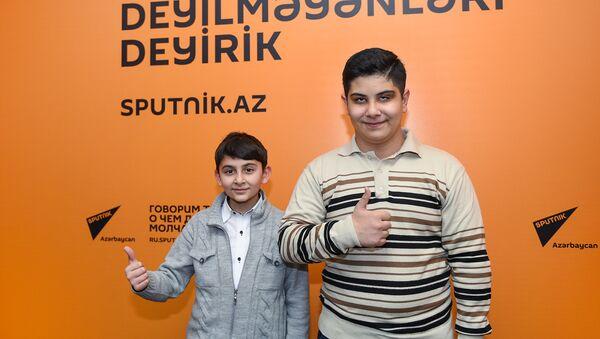 Намик и Самед - участники второго сезона Ты супер! на НТВ - Sputnik Азербайджан