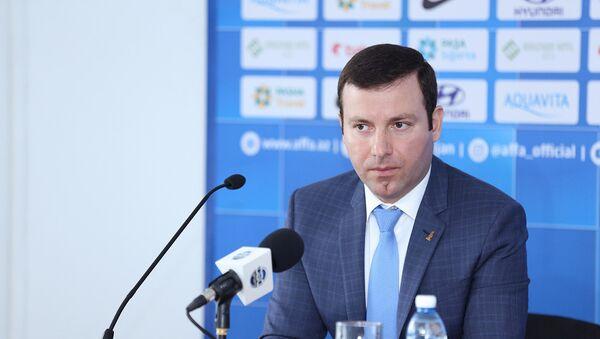 Генеральный секретарь АФФА Эльхан Мамедов - Sputnik Азербайджан