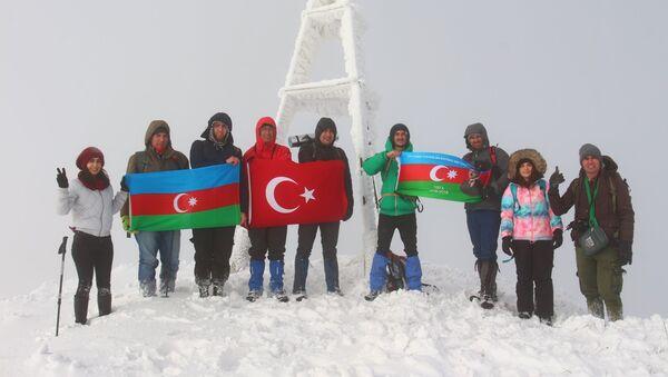 Alpinistlər - Sputnik Azərbaycan