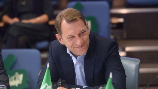 Заместитель главного редактора МИА Россия сегодня Андрей Благодыренко - Sputnik Азербайджан