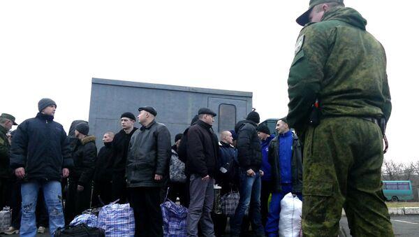 Украинские пленные, фото из архива - Sputnik Азербайджан