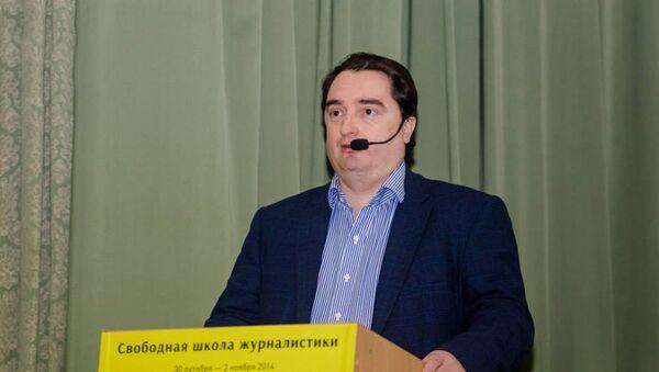 Главный редактор интернет-издания Страна Игорь Гужва - Sputnik Азербайджан