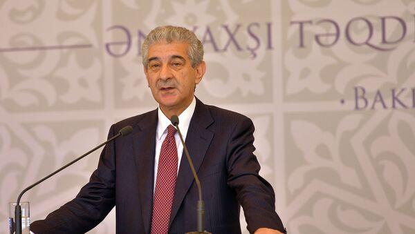 Вице-премьер Али Ахмедов, фото из архива - Sputnik Азербайджан