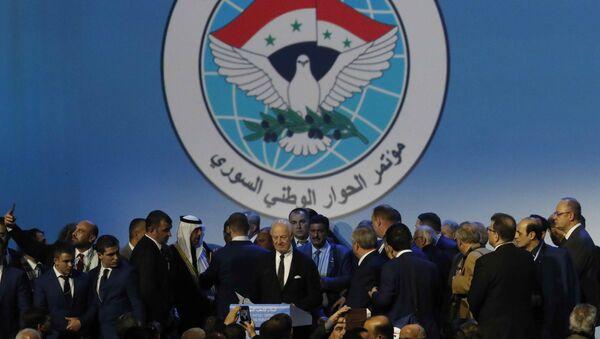 Конгресс сирийского Национального диалога, фото из архива - Sputnik Азербайджан
