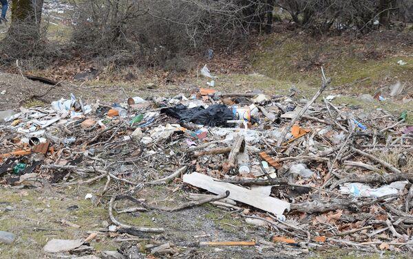 Эти места напоминают мусорные полигоны - Sputnik Азербайджан