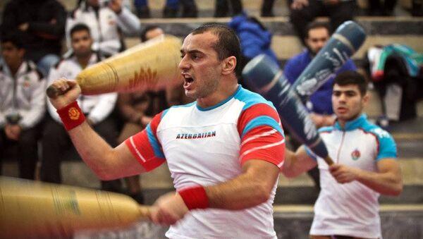 Спортсмен Хаям Оруджев - Sputnik Азербайджан