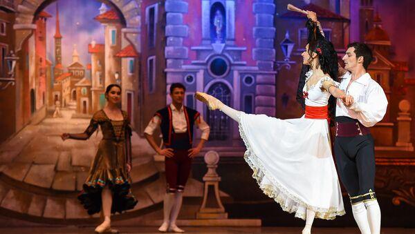 Генеральная репетиция балета Гойя - Sputnik Азербайджан