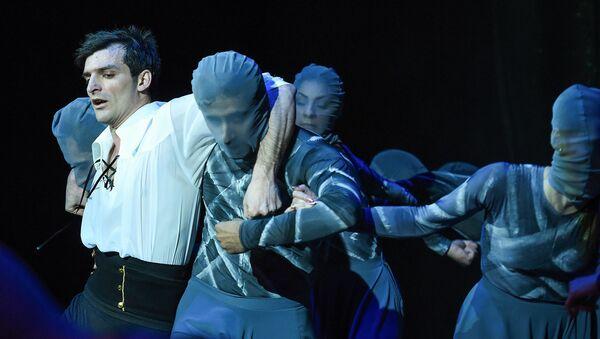 Репетиция балета Гойя на сцене Азербайджанского государственного академического театра оперы и балета - Sputnik Азербайджан
