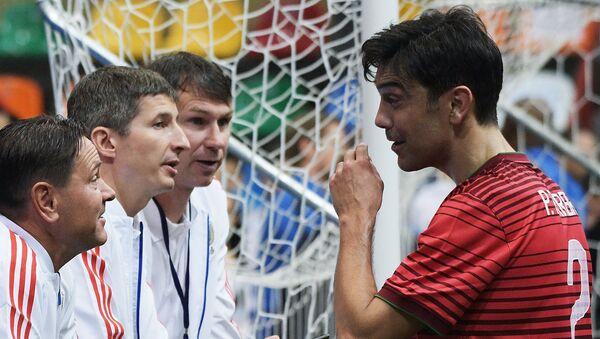 Дмитрий Аленичев, Евгений Алдонин, Егор Титов и Паулу Феррейра (слева направо) - Sputnik Азербайджан