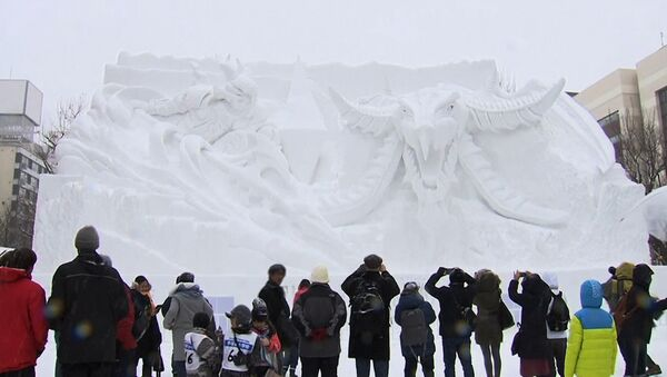 Фестиваль снега в Саппоро - Sputnik Азербайджан