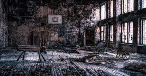 Спортзал, Припять - Sputnik Азербайджан
