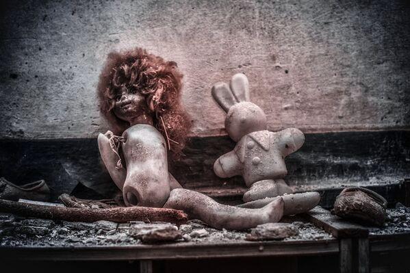 Игрушки в детском саду, Припять - Sputnik Азербайджан