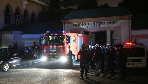 Взрыв в Хатаинском районе Баку - Sputnik Азербайджан