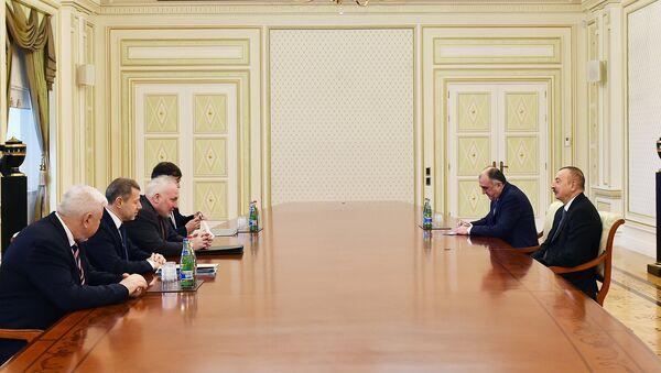 Президент Ильхам Алиев принял сопредседателей Минской группы ОБСЕ - Sputnik Азербайджан