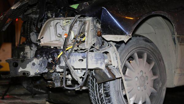 Авария в Насиминском районе Баку - Sputnik Азербайджан