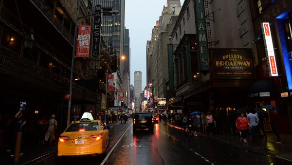 Бродвейский театр в Нью-Йорке - Sputnik Азербайджан