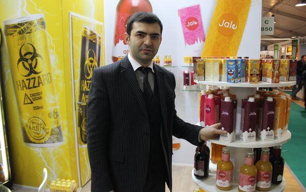 Азербайджанские продукты на международной выставке Продэкспо-2018 - Sputnik Азербайджан