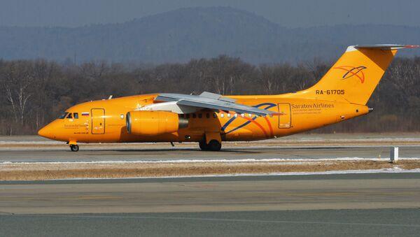 Самолет Ан-148-100В, фото из архива - Sputnik Azərbaycan