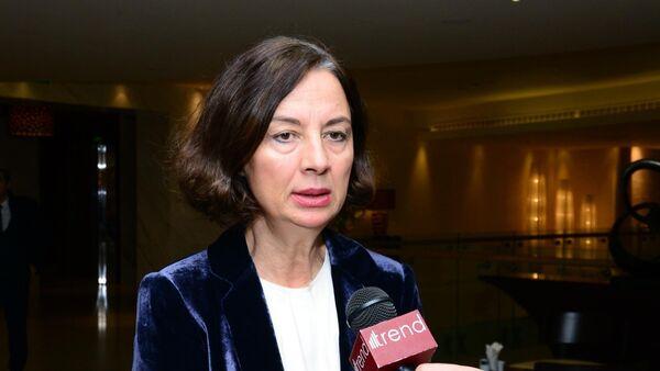 Руководитель офиса партнерства и координации FAO Мелек Чакмак - Sputnik Азербайджан