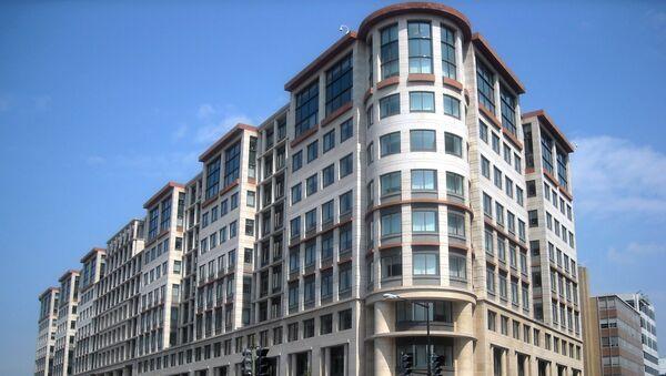Штаб-квартира Международной финансовой корпорации в Вашингтоне, фото из архива - Sputnik Азербайджан
