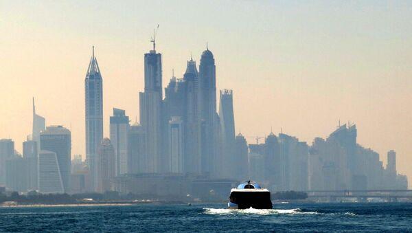 Вид на город Дубай, фото из архива - Sputnik Азербайджан