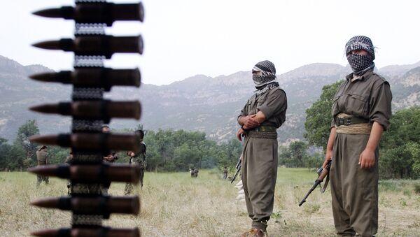 PKK-nın üzvləri, arxiv şəkli - Sputnik Azərbaycan