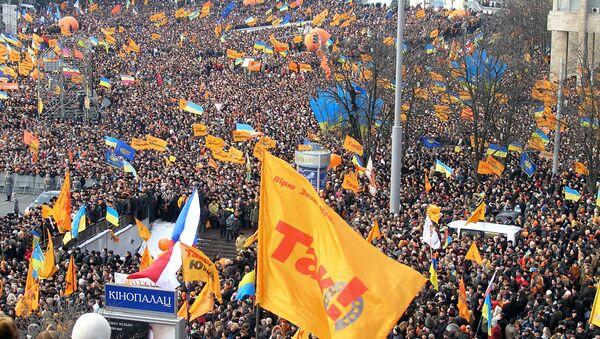 Kiyevdə mitinq, 23 yanvar 2005-ci il - Sputnik Azərbaycan